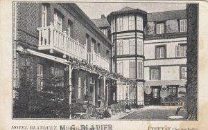 ETRETAT (Seine-Infre) , France, 1900-10s ; Hotel Blanquet
