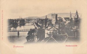 Neckaransicht, Bridges, HEILBRONN, Baden-Wurttemberg, Germany, 00-10's