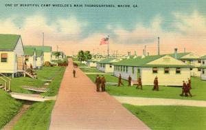 GA - Macon. Camp Wheeler, A Main Thoroughfare