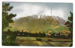 Ogden to Sandy, Utah 1927 used Postcard, Mount Timpanogos