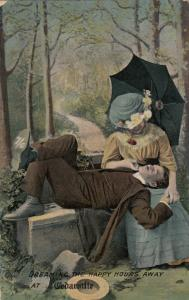 CEDARVILLE , Ontario , Canada , 1910 ; Couple Greetings