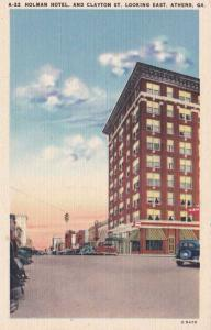 Holman Hotel on Clayton Street - Athens GA, Georgia - Linen