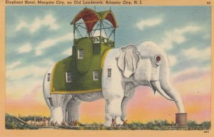 ATLANTIC City , New Jersey , 1930-40s ; Elephant Hotel : #2
