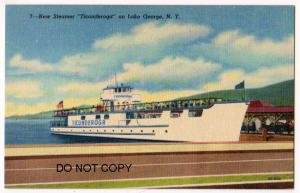 New Steamer Ticonderoga, Lake George NY