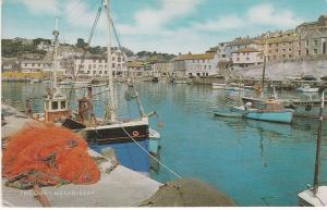 Postcard Cornwall Mevagissey The Quay