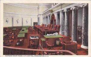 Washington DC Supreme Court Room U S Capitol