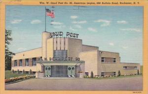 New York Rochester William W Doud American Legion Post No 98 1947 Curteich