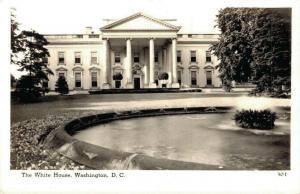 USA The White House Washington D. C. RPPC 02.68