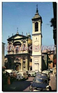 Nice Modern Postcard In Old Nice Eglise Sainte Reparate