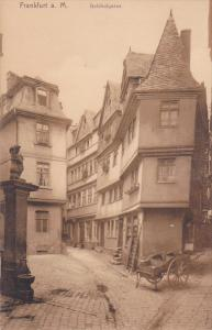 Goldhutgasse, FRANKFURT A. MAIN (Hesse), Germany, 1900-1910s