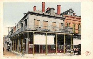 LP68  New Orleans Louisiana Begues Exchange  Detroit Publishing Postcard