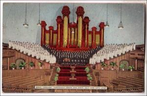 UT - Mormon Tabernacle Organ & Choir, Salt Lake City