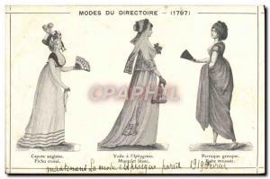 Old Postcard Fancy Management Modes 1797