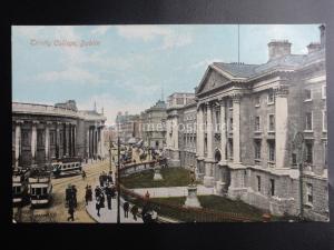 Ireland DUBLIN Trinity College c1905 Postcard