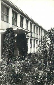 Postalkarte Romania Lehliu Liceul