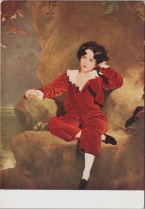 Master Lambton Sir T. Lawrence Art Artwork Unused Postcard D36