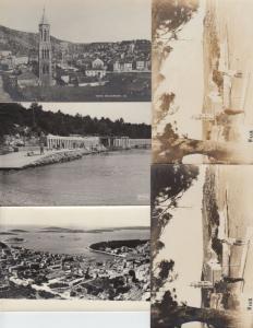 HVAR CROATIE CROATIA 17 Cartes Postales 1900-1940.