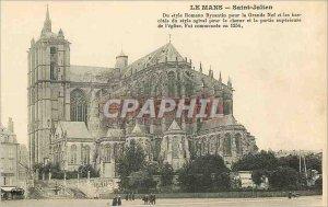 Old Postcard Le Mans Saint Julien