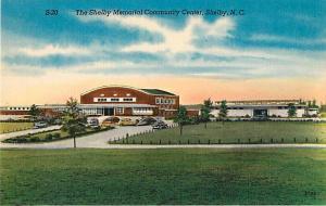 Shelby Memorial Community Center Shelby North Carolina NC