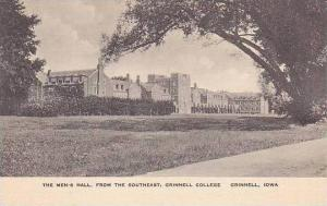 Iowa Grinnell College Mens Hall Albertype