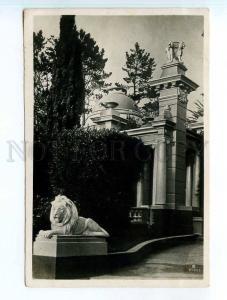 250323 USSR Sochi Arboretum gazebo 1937 year Photo Bratolyubov
