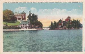 Hopewell Hall - Castle Rest - Thousand Island Country Club - New York - pm 1927