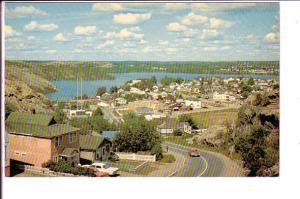 Ross Lake Subdivision, Flin Flon Manitoba, 50's Cars