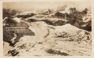 RP ; Canadian Rocky Mts , B.C. , Canada , 1910-30s ; Aeroplane View, Peaks
