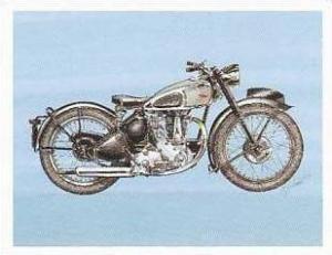 Newmarket Hardware Vintage Trade Card Britains Finest Bikes 1993 No 6 B S A B...