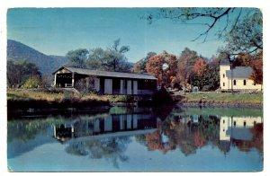 MA - South Lee, Berkshires. Covered Bridge