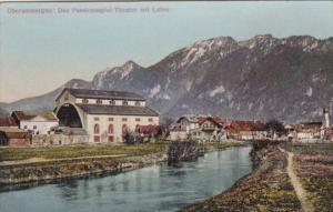 Germany Oberammergau Passionsspiel Theater Mit Laber