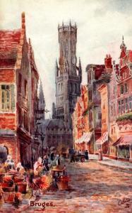 Tucks Bruges Series Bruges
