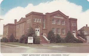 CHILDRESS, Texas, 50-60s; First Methodist Church
