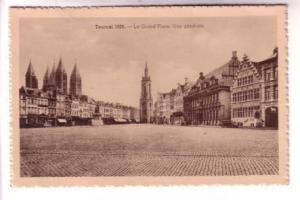Sepia, Tournai 1939, Downtown, Belgium