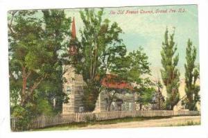 The Old French Church , Grand Pre, Nova Scotia, Canada, PU-1910