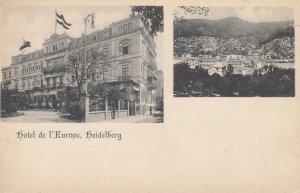 hotel de l'Europe , Heidelberg , Germany , 1901-07
