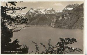 Switzerland Postcard - Urnersee & Urirotstock - Ref TZ7648