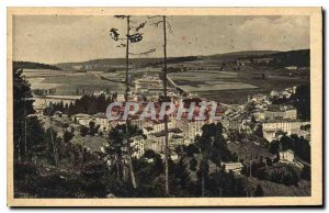 Old Postcard Louvesc Ardeche general view