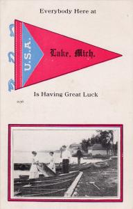 Everybody here is having great luck at LAKE, Michigan, PU-1915