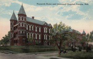 OMAHA , Nebraska , 1900-10s ; Nazareth Home