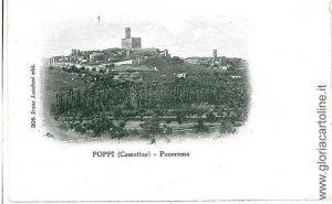 01437 CARTOLINA d'Epoca: AREZZO - CASENTINO: POPPI