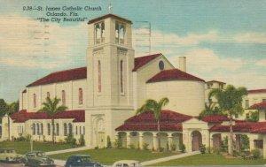 USA Florida Orlando St. James Catholic Church The City Beautiful 04.33