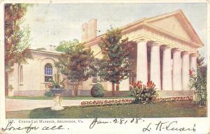 Arlington Virginia~Custis Lee Mansion~1908 Postcard