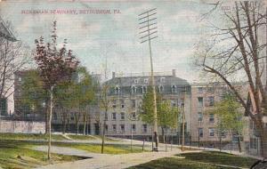 Moravian Seminary Bethlehem Pennsylvania 1908