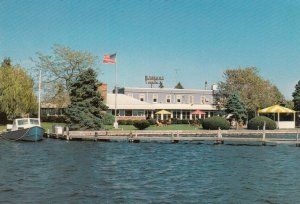 OAKDALE, Long Island, New York, 1960s; Snapper Inn, On the Cannetquot River
