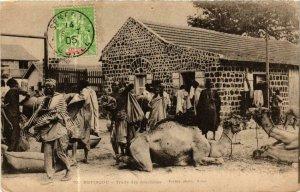 CPA AK Fortier 70, Rufisque- Traite des Arachides, SENEGAL (761765)