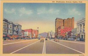 Utah Ogden Washington Avenue