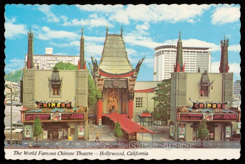 The Worlds Famous Chinese Theatre - Hollywood