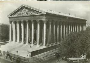 France, Paris Eglise de la Madeleine 1930s unused Postcard