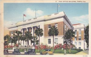 TAMPA, Florida; Post Office Building, 30-40s
